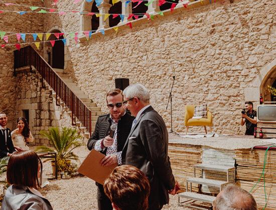 Maestro ceremonias y eventos Jordi Merca
