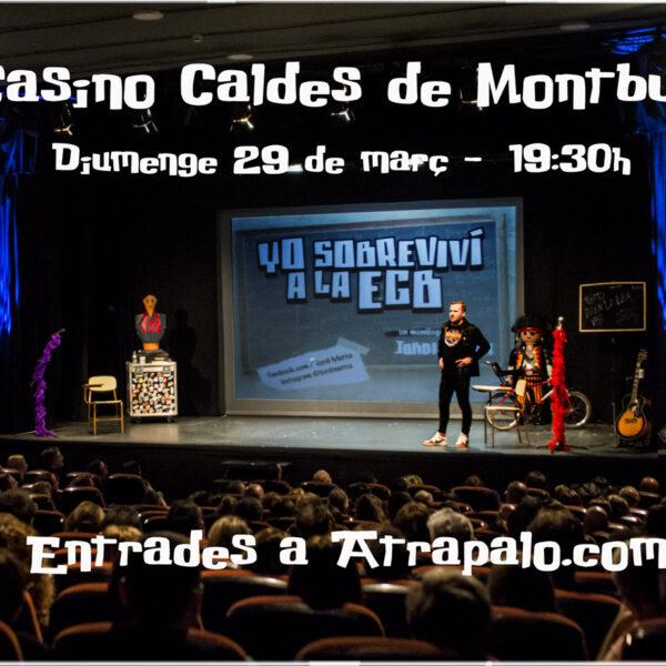 EGB Jordi Merca Casino Caldes de Montbui