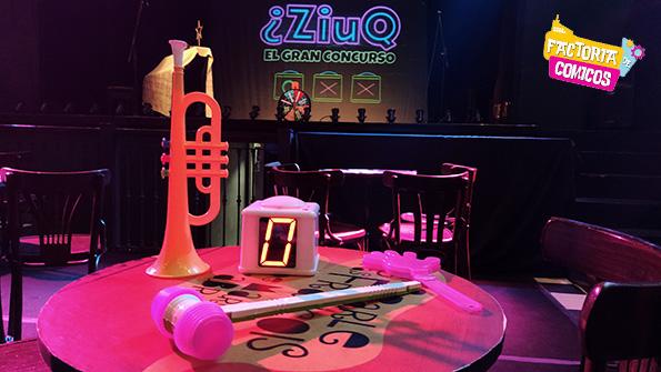 Ziuq concurso de televisión en el teatro