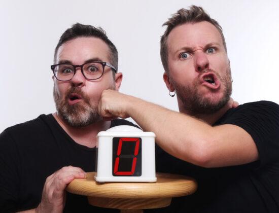 Jordi Merca y Oscar Bayona en ZIUQ un concurso loco