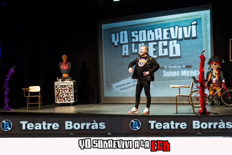teatre borras barcelona yo sobrevivi a la egb