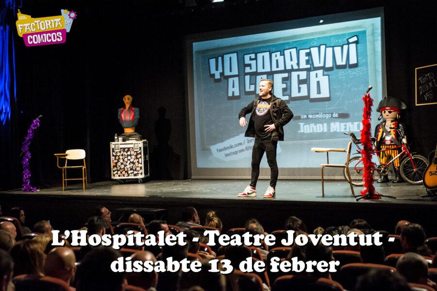 hospitalet promo cartel monologo jordi merca