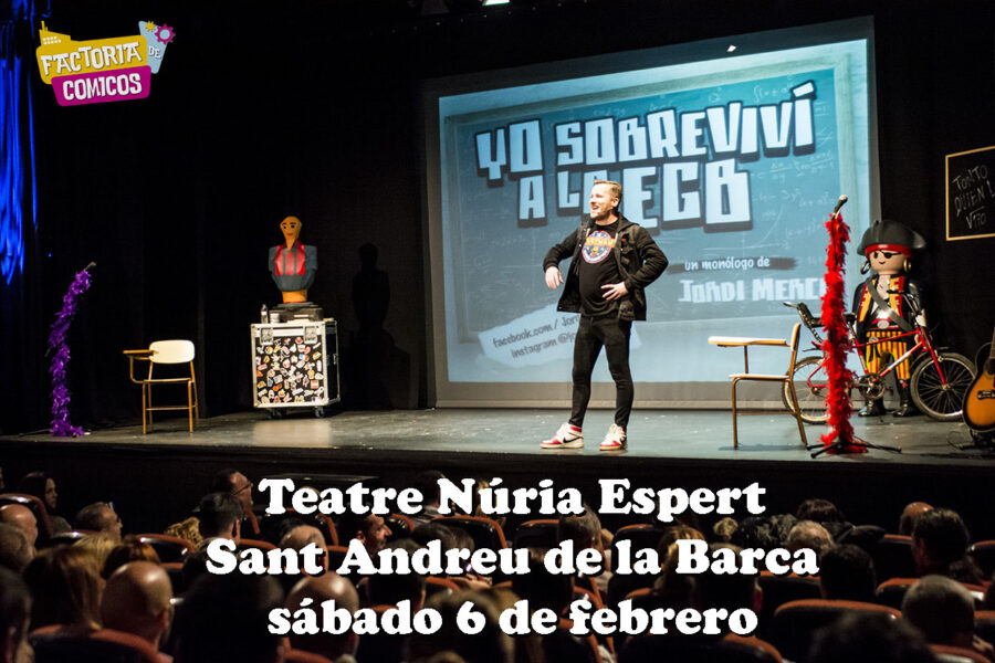 teatro jordi merca monologo egb